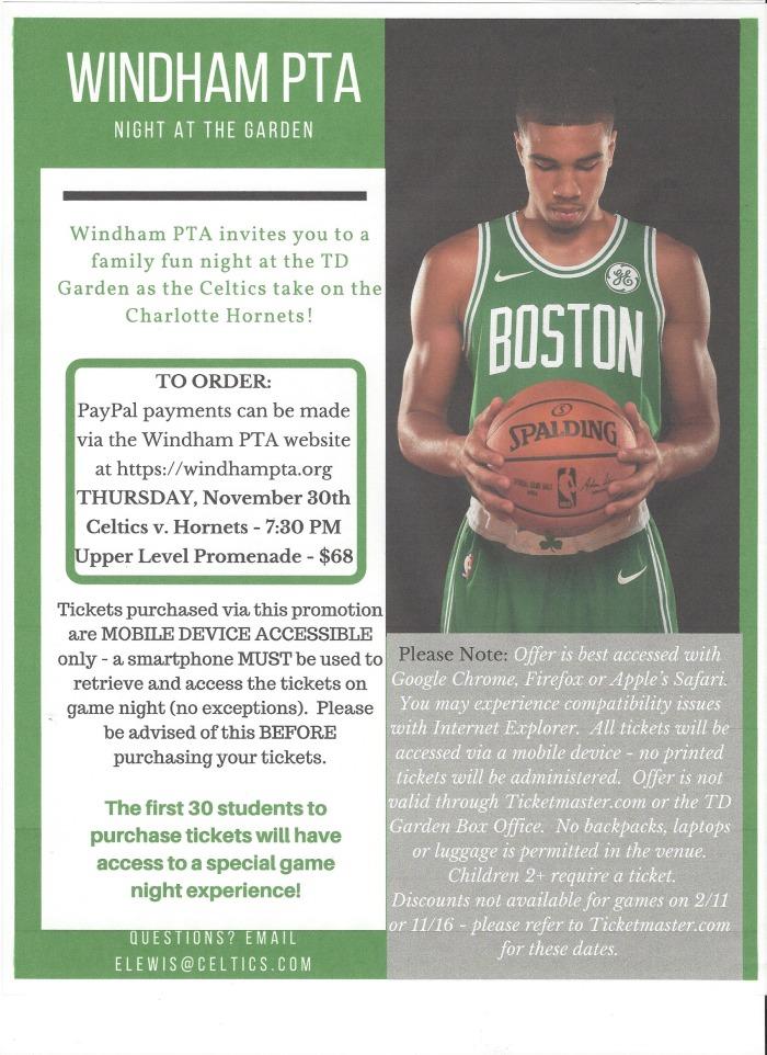 Celtics Flyer